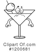 Royalty-Free (RF) Martini Clipart Illustration #1200681