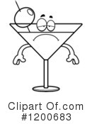 Royalty-Free (RF) Martini Clipart Illustration #1200683