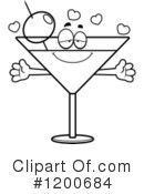 Royalty-Free (RF) Martini Clipart Illustration #1200684
