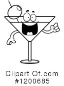 Royalty-Free (RF) Martini Clipart Illustration #1200685