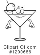 Royalty-Free (RF) Martini Clipart Illustration #1200686