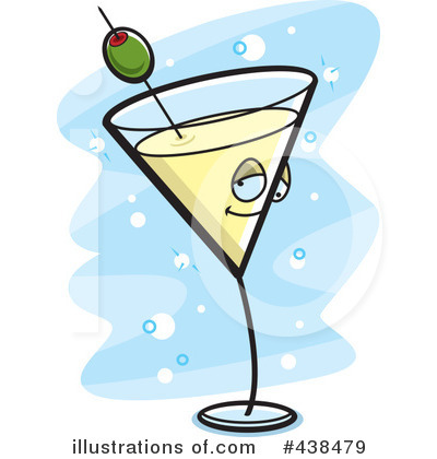 Royalty-Free (RF) Martini Clipart Illustration by Cory Thoman - Stock Sample #438479