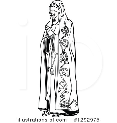 Virgin Mary Clipart #1292975 by dero