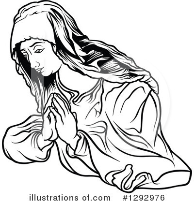 Virgin Mary Clipart #1292976 by dero