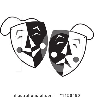 Royalty-Free (RF) Mask Clipart Illustration by Johnny Sajem - Stock Sample #1156480