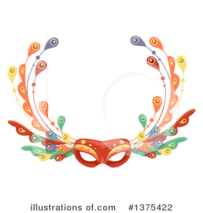 Mask Clipart #1375422 by BNP Design Studio