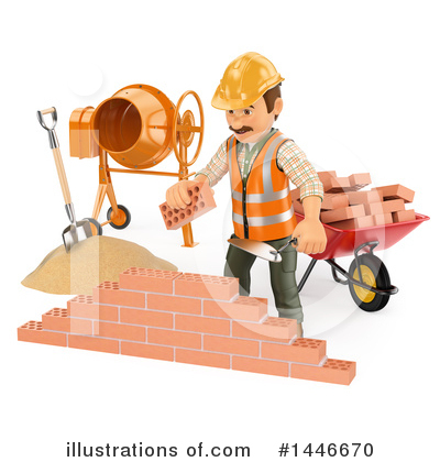 Worker Clipart #1446670 by Texelart