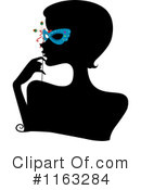 Royalty-Free (RF) Masquerade Clipart Illustration #1163284