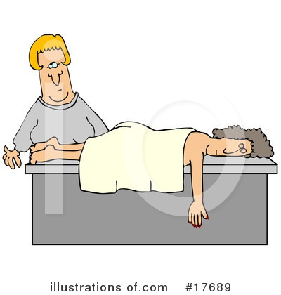 Royalty-Free (RF) Massage Clipart Illustration by djart - Stock Sample #17689