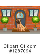 Mastiff Clipart #1287094 by Graphics RF