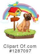 Mastiff Clipart #1287097 by Graphics RF