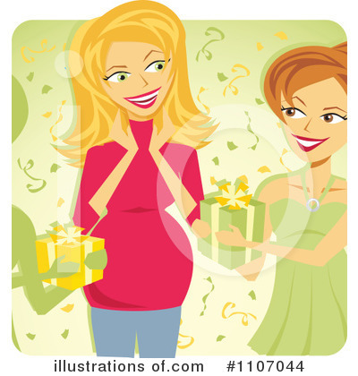 Pregnant Clipart #1107044 by Amanda Kate