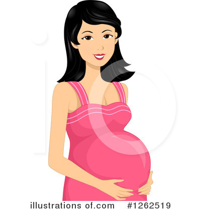 Pregnant Clipart #1262519 by BNP Design Studio