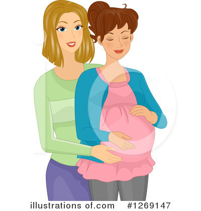 Pregnant Clipart #1269147 by BNP Design Studio