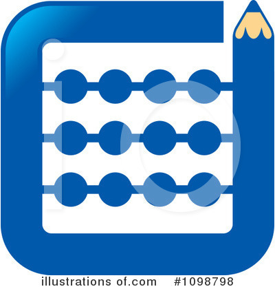 Royalty-Free (RF) Math Clipart Illustration by Lal Perera - Stock Sample #1098798