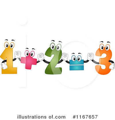 Number Clipart #1167657 by BNP Design Studio