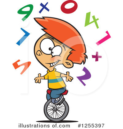 Math Clipart #1255397 by toonaday