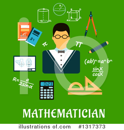 Algebra Clipart #1317373 by Vector Tradition SM