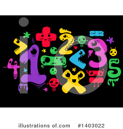 Royalty-Free (RF) Math Clipart Illustration by BNP Design Studio - Stock Sample #1403022
