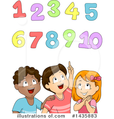 Number Clipart #1435883 by BNP Design Studio