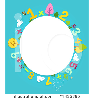 Number Clipart #1435885 by BNP Design Studio