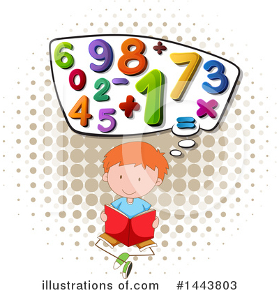 Numbers Clipart #1443803 by Graphics RF