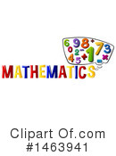 Math Clipart #1463941 by Graphics RF