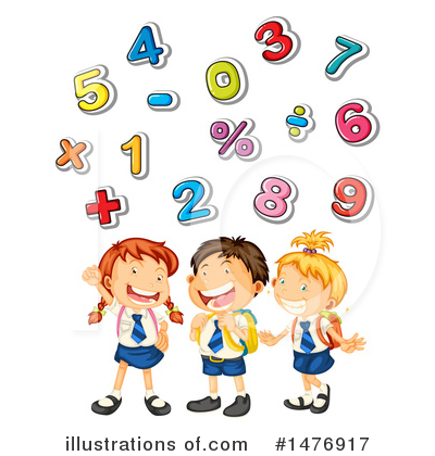 Number Clipart #1476917 by Graphics RF