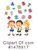 Royalty-Free (RF) Math Clipart Illustration #1476917