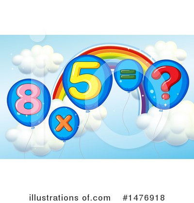 Rainbow Clipart #1476918 by Graphics RF