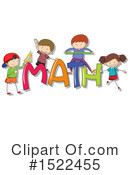 Royalty-Free (RF) Math Clipart Illustration #1522455