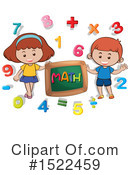 Royalty-Free (RF) Math Clipart Illustration #1522459