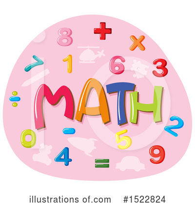 Numbers Clipart #1522824 by Graphics RF