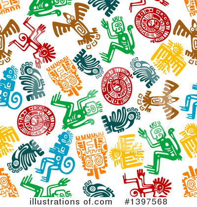 Aztec Clipart #1397568 by Vector Tradition SM