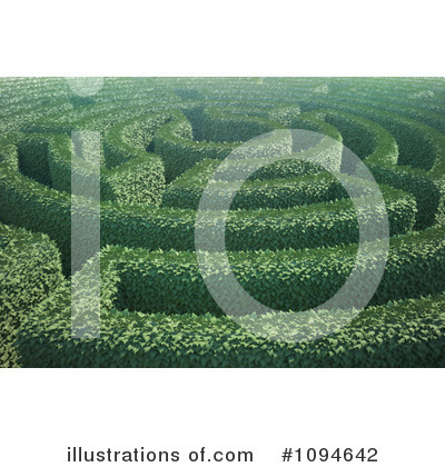 Maze Clipart #1094642 by Mopic