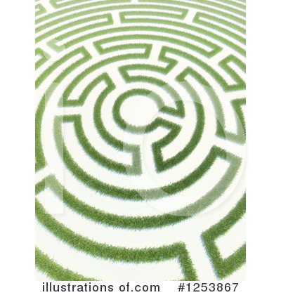 Royalty-Free (RF) Maze Clipart Illustration by Mopic - Stock Sample #1253867