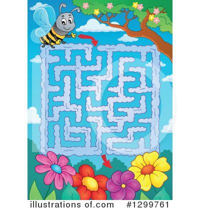 Maze Clipart #1299761 by visekart