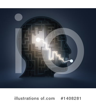 Maze Clipart #1408281 by Mopic