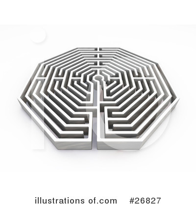 Maze Clipart #26827 by KJ Pargeter