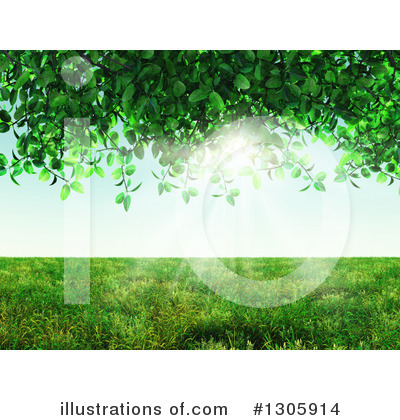Leaves Clipart #1305914 by KJ Pargeter