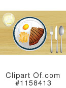 Meal Clipart #1158413 by Graphics RF