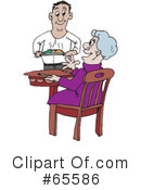 Meal Clipart #65586 by Dennis Holmes Designs