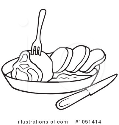 royalty free rf meat clipart illustration 1051414 by dero