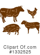 Meat Clipart #1332525 by Vector Tradition SM