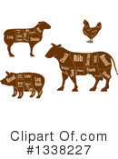 Meat Clipart #1338227 by Vector Tradition SM