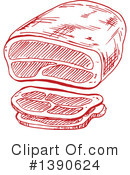 Meat Clipart #1390624 by Vector Tradition SM