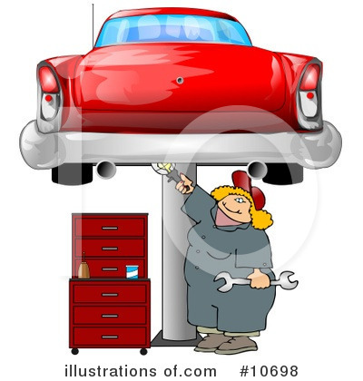 Mechanic Clipart #10698 by djart