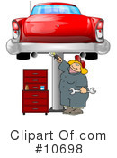 Royalty-Free (RF) Mechanic Clipart Illustration #10698