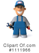 Mechanic Clipart #1111966 by Julos