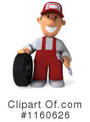 Royalty-Free (RF) Mechanic Clipart Illustration #1160626